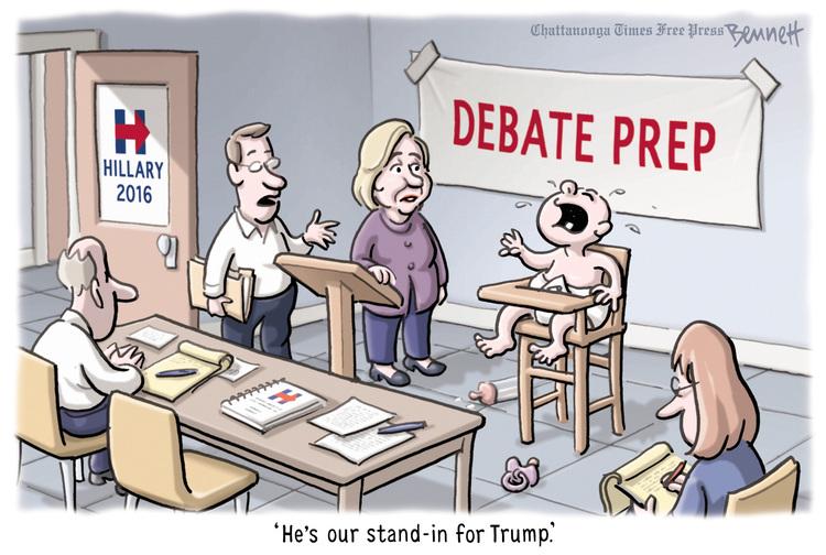 Hackwhackers: Today's Cartoon - Debate Prep