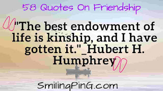 58 Short Inspirational Friendship Quotes With Love