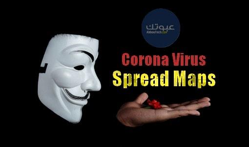 Corona Virus Spread Maps