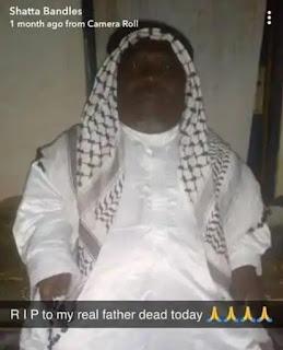 Shatta Bandle Loses Father