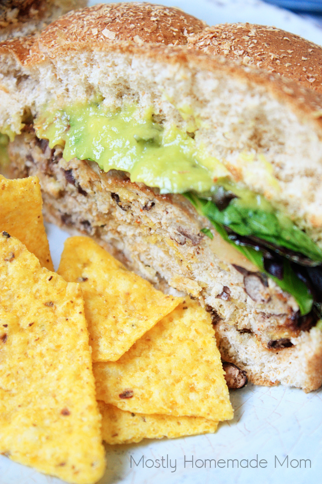 Guacamole Black Bean Easy Turkey Burger Recipe