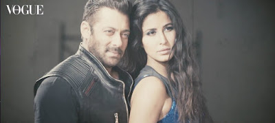 Salman & Katrina's Stunning Chemistry in Vogue India Cover Shoot