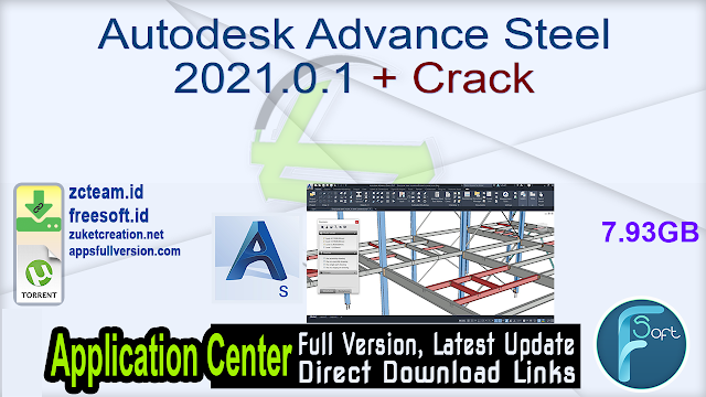 Autodesk Advance Steel 2021.0.1 + Crack