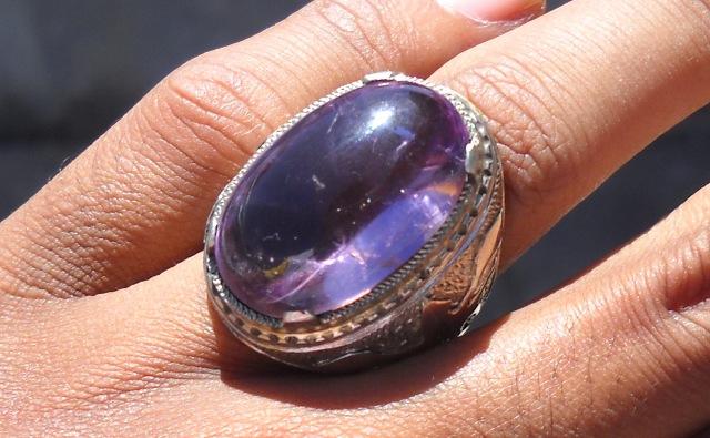 Koleksi Batu Antik: KCB28- SOLD - Batu Kecubung Ungu ...