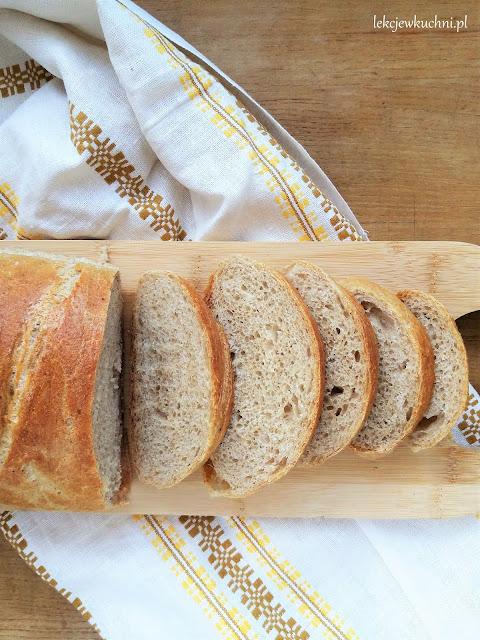 Pszenny chleb codzienny na drożdżach przepis