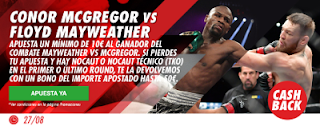 circus promocion 50 euros Mayweather vs McGregor 27 agosto