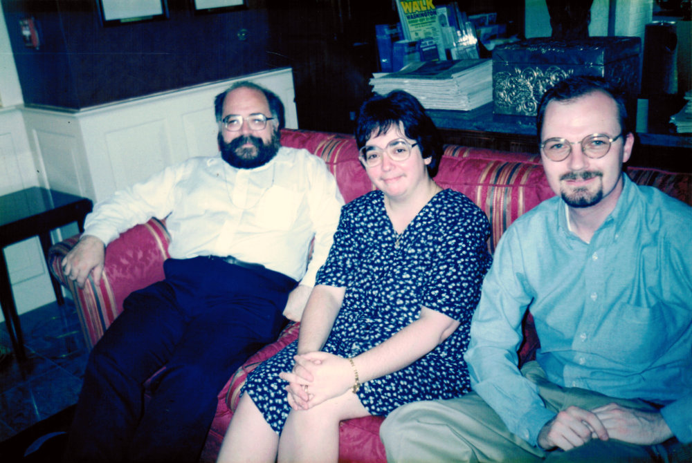 William Yvonne and Noel 1997