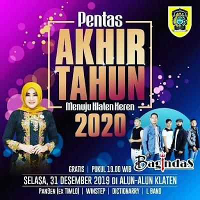 Hiburan Konser Akhir Tahun Klaten Keren Bersama D-Bagindas