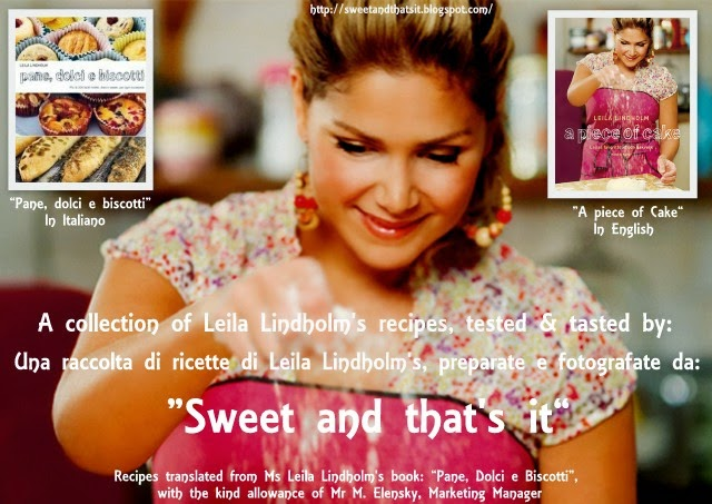 Baking with Leila Lindholm: Recipes - Ricette