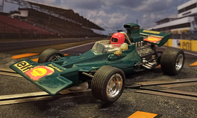 """Tyrrel Ford F1 Exin """"verde"""" Scalextric"""