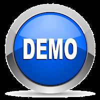 demo tutorial membuat menu navigasi dropdown blogspot