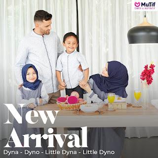 Koleksi Sarimbit  Family Mutif  Dyna Dyno Little Dyna Little Dyno