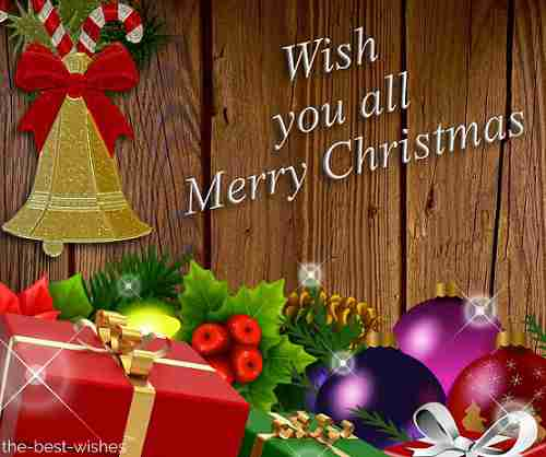 wish you all merry christmas photo
