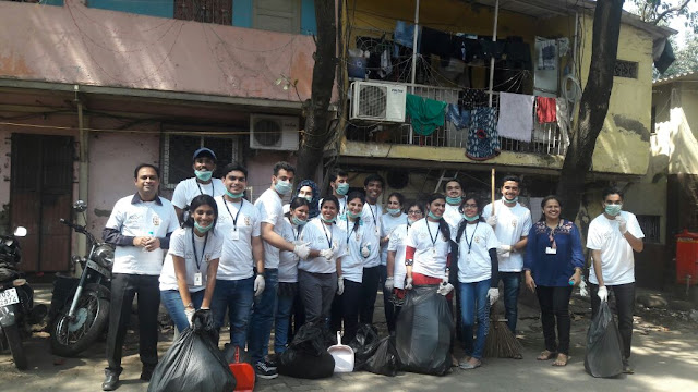 'Mission Clean Chembur' students' initiative towards Swachh Bharat campaign