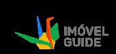 imagem do logotipo do site imóvel Guide com formas coloridas