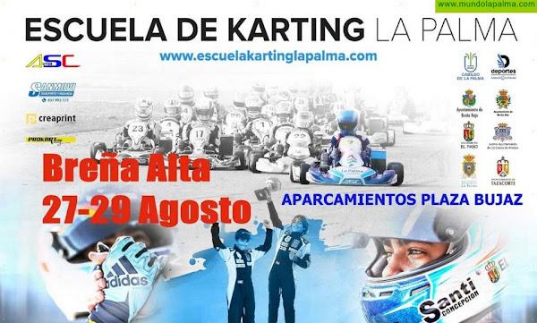 La Palma despega con el primer campus escuela de karting