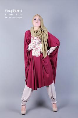 model hijab Igo Cantik ceruti baju lebar dna mani scewek cantik mirip orang arab
