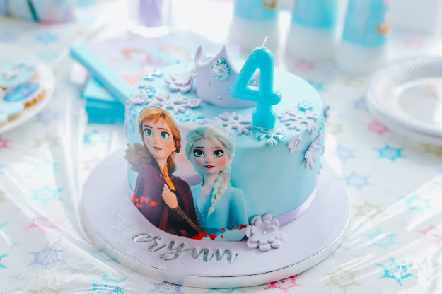anniversaire reine des neiges 2