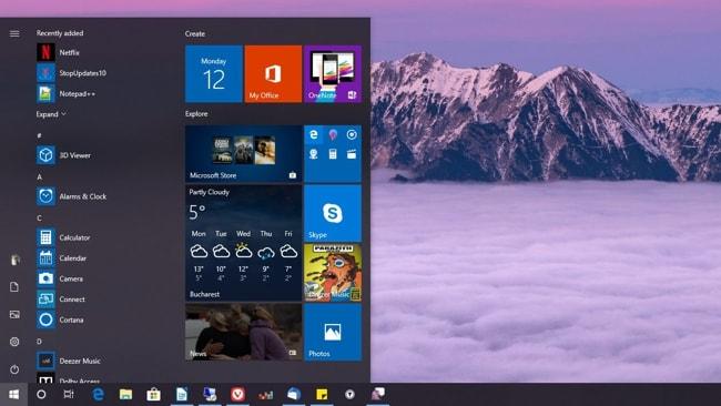Windows OS image