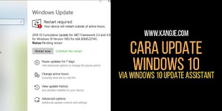 Cara Update Windows 10 Menggunakan Fitur Windows 10 Update Assistant