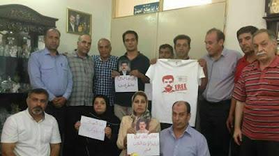 إعلان تضامن جمع من سواق مصلحة نقل الركاب مع السجين السياسي«رضا شهابي»