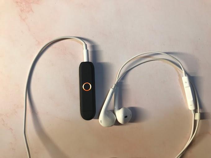 【無痛升級】將 3.5 mm 耳筒添上藍牙功能 Aiyo0o 無線藍牙器