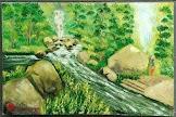 Lukisan Cat Minyak Landscape 0011