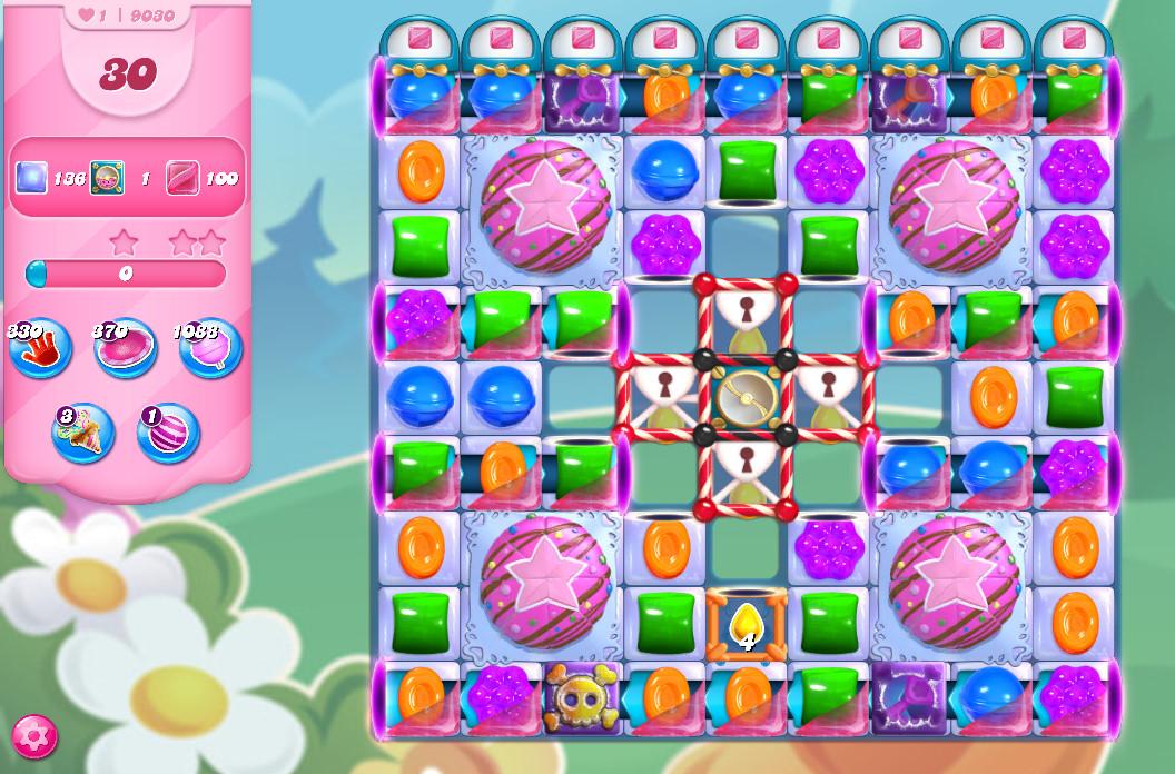 Candy Crush Saga level 9030