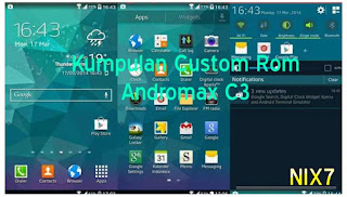 Kumpulan Custom Rom Andromax C3
