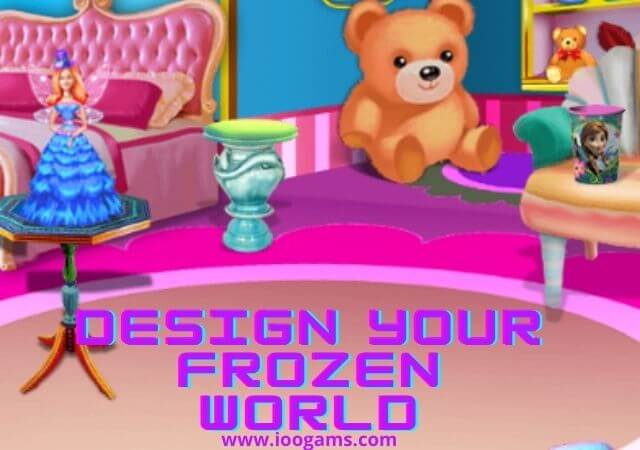 Design Your Frozen World game - ioogames.com