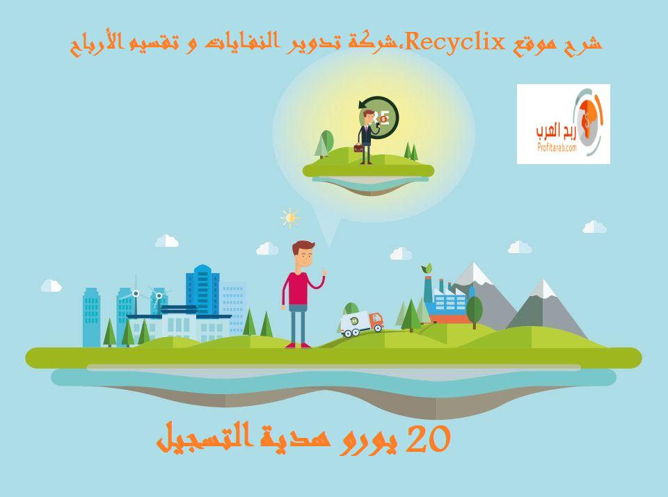 الموقع الرائعrecyclix، شركة تدوير النفايات، recyclix.jpg