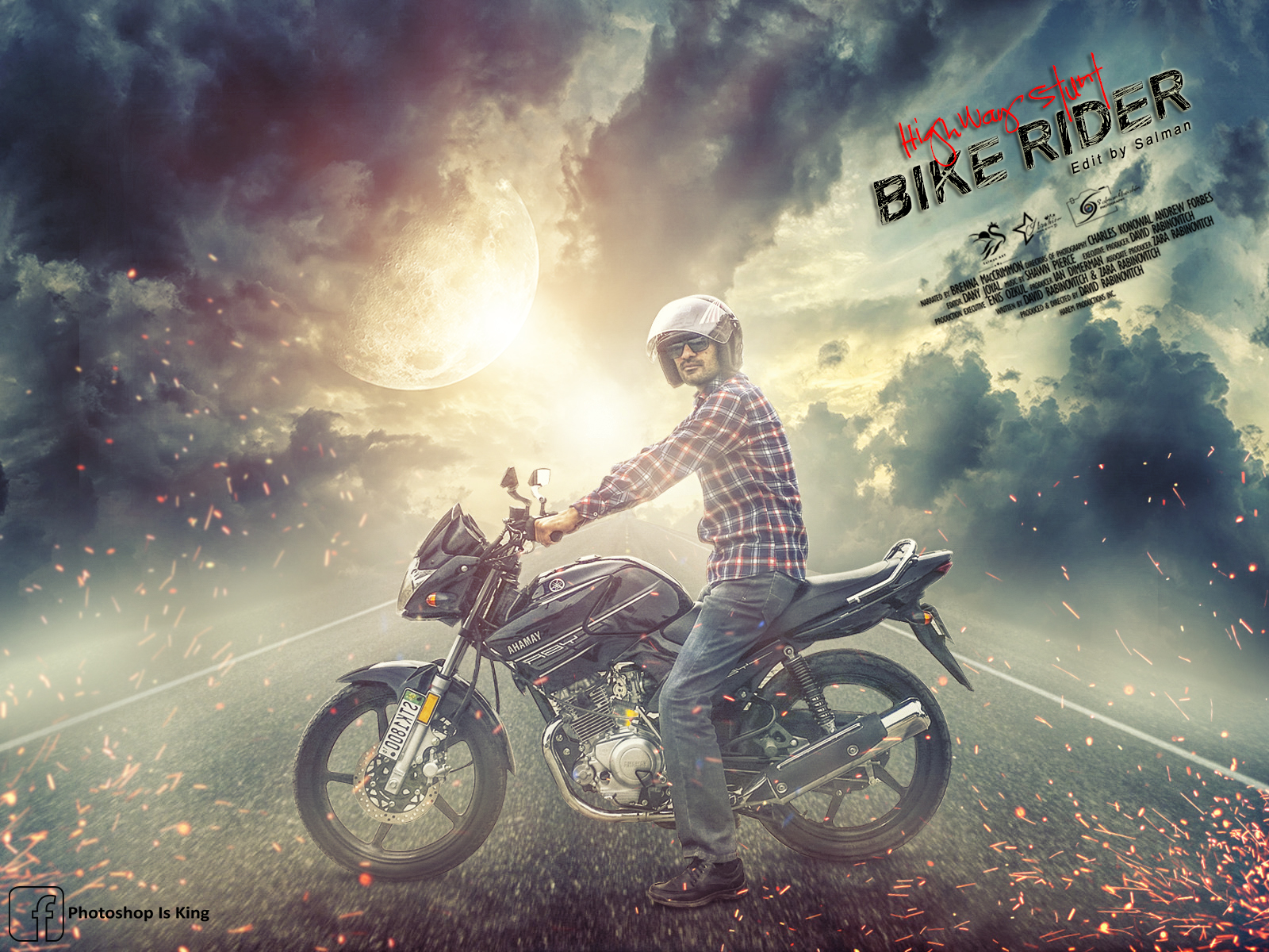 Click here download psd photoshop tutorial photo manipulation click here download psd photoshop tutorial photo manipulation effect bike rider baditri Gallery