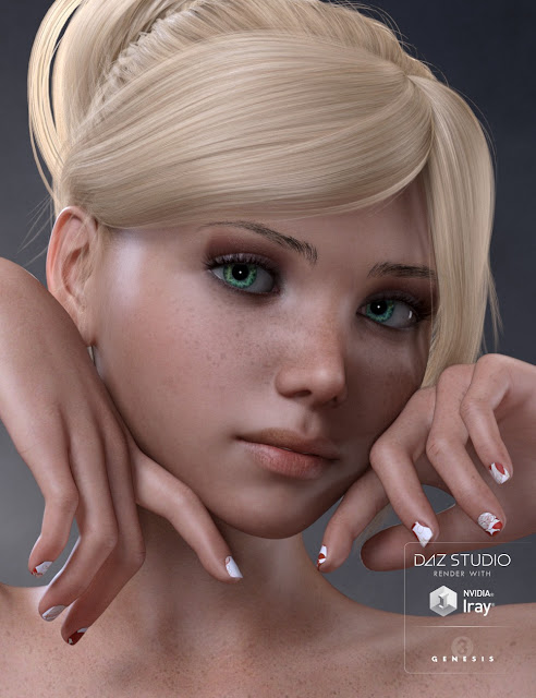 Andromeda for Genesis 3 Female