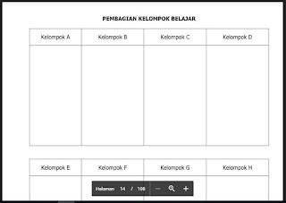 Pembagian Kelompok Belajar, http://www.librarypendidikan.com/