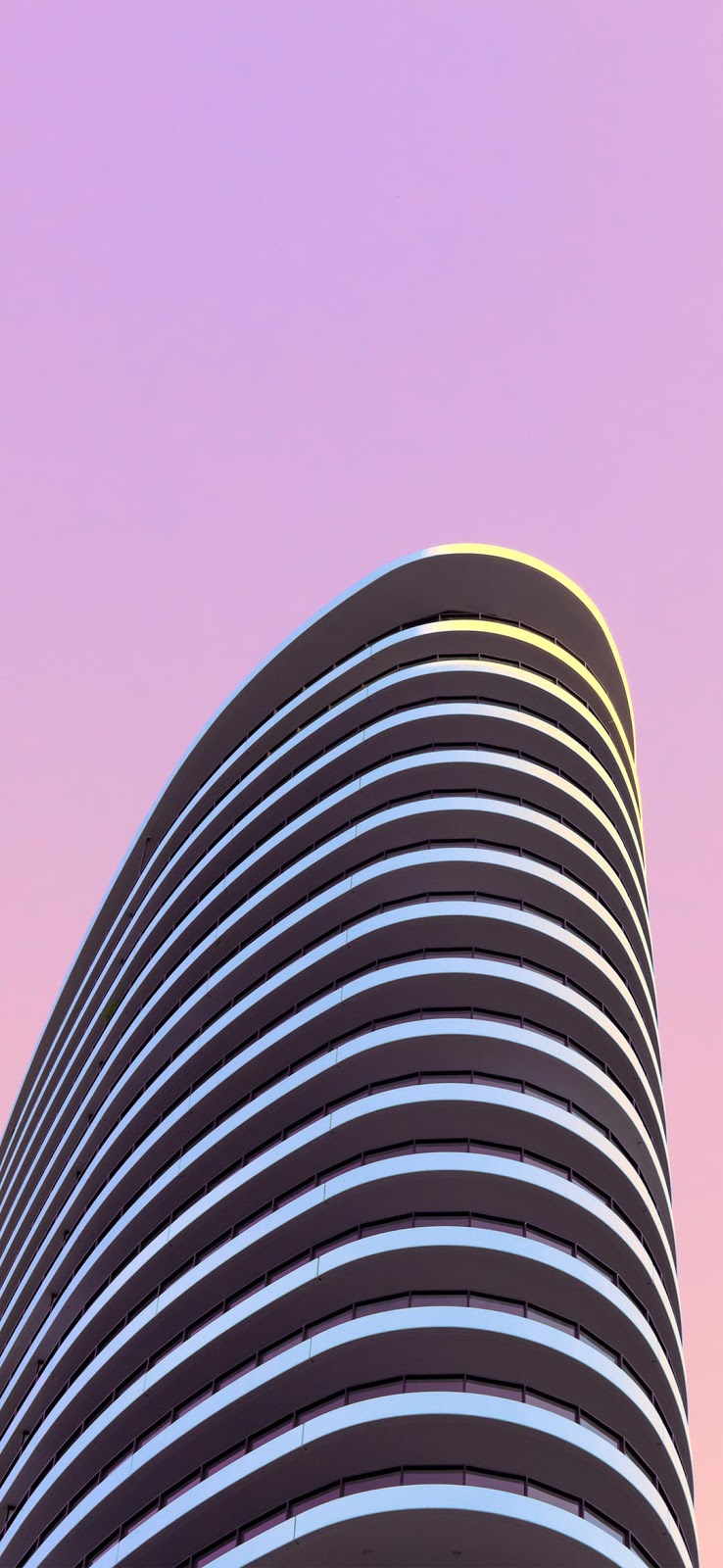 Cool striped building