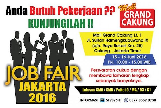 Jobfair Jakarta Mall Grand Cakung