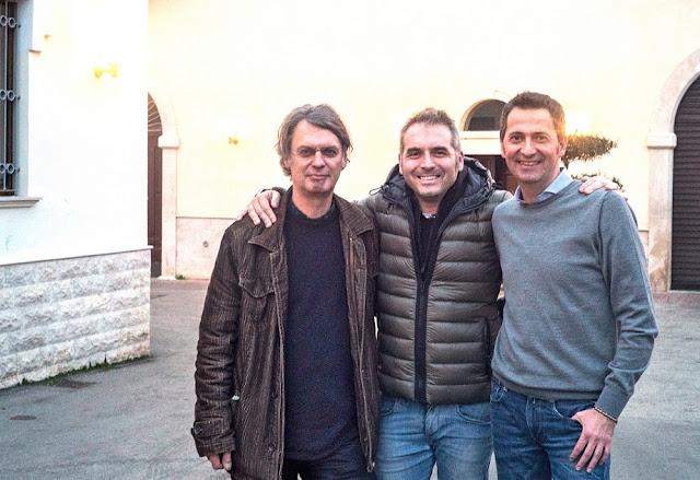 Zait-Gründer Thomas Fuhlrott (l.) mit zwei befreundeten Oliviers. #Olivenöl #zait #MoToLogie