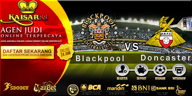 Prediksi Bola Hari ini Blackpool vs Doncaster Rovers 30 Maret 2018