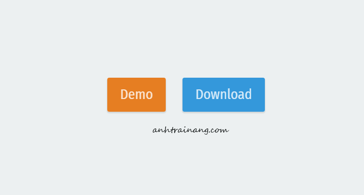 Tạo nút Demo và Download với hiệu ứng gơn sóng (wave) đẹp mắt