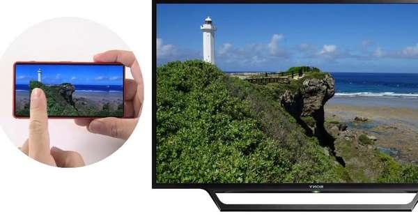 Menampilkan Layar Redmi Note 7 ke TV LED Via STB Box