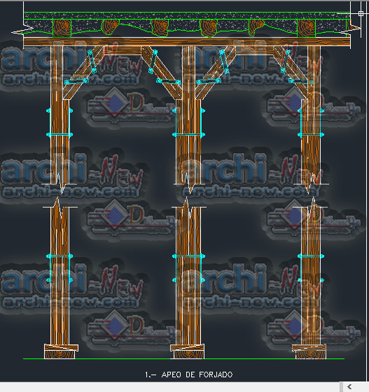 download-autocad-cad-dwg-file-structure-Rehabilitation-replacement-floor-joists
