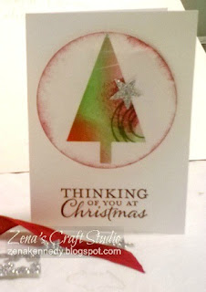 One sheet wonder gift card Zena Kennedy independent Stampin Up demonstrator