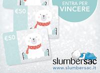 Logo Slumbersac : vinci gratis carte regalo da 50€