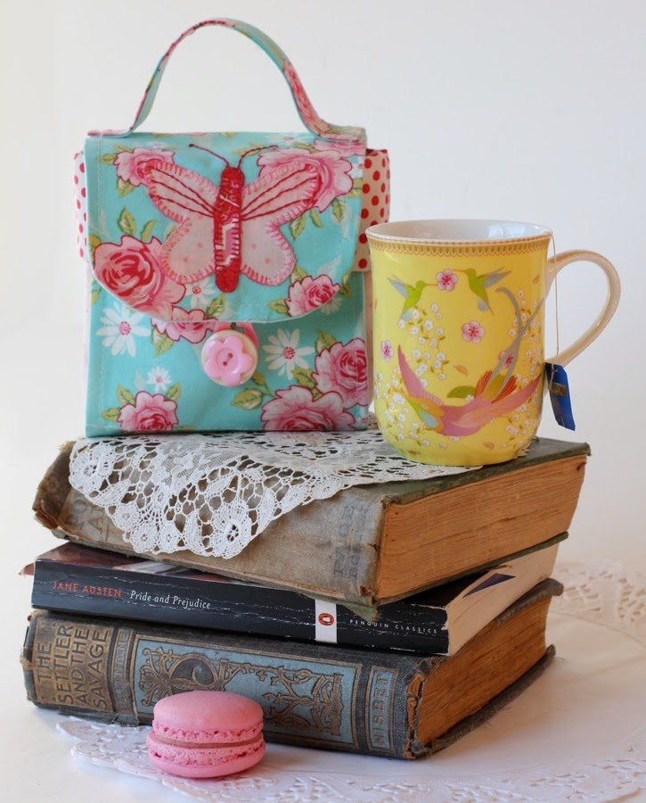 Sew Chic Butterfly Mugbag