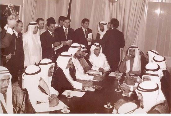 The Uae Man مدونة رجل الإمارات صور من يوم الاتحاد 1971