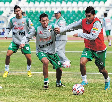 Na altitude, a esperança de vitória para a Bolívia