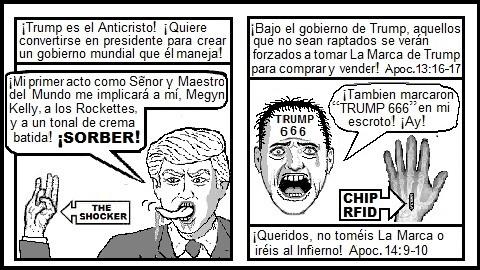 Trump RFID chip