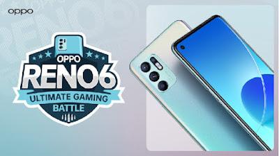 Oppo Akan Gelar Event Gaming Battle Serta kenalkan fitur gaming pada Smartphonenya Reno6
