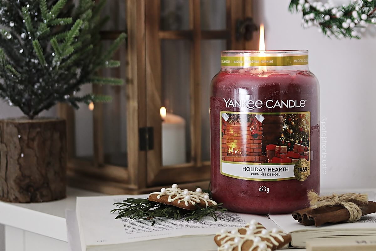 Tak pachną święta! Yankee Candle Holiday Hearth