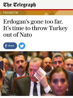 ضربه قاضيه لى تركيا